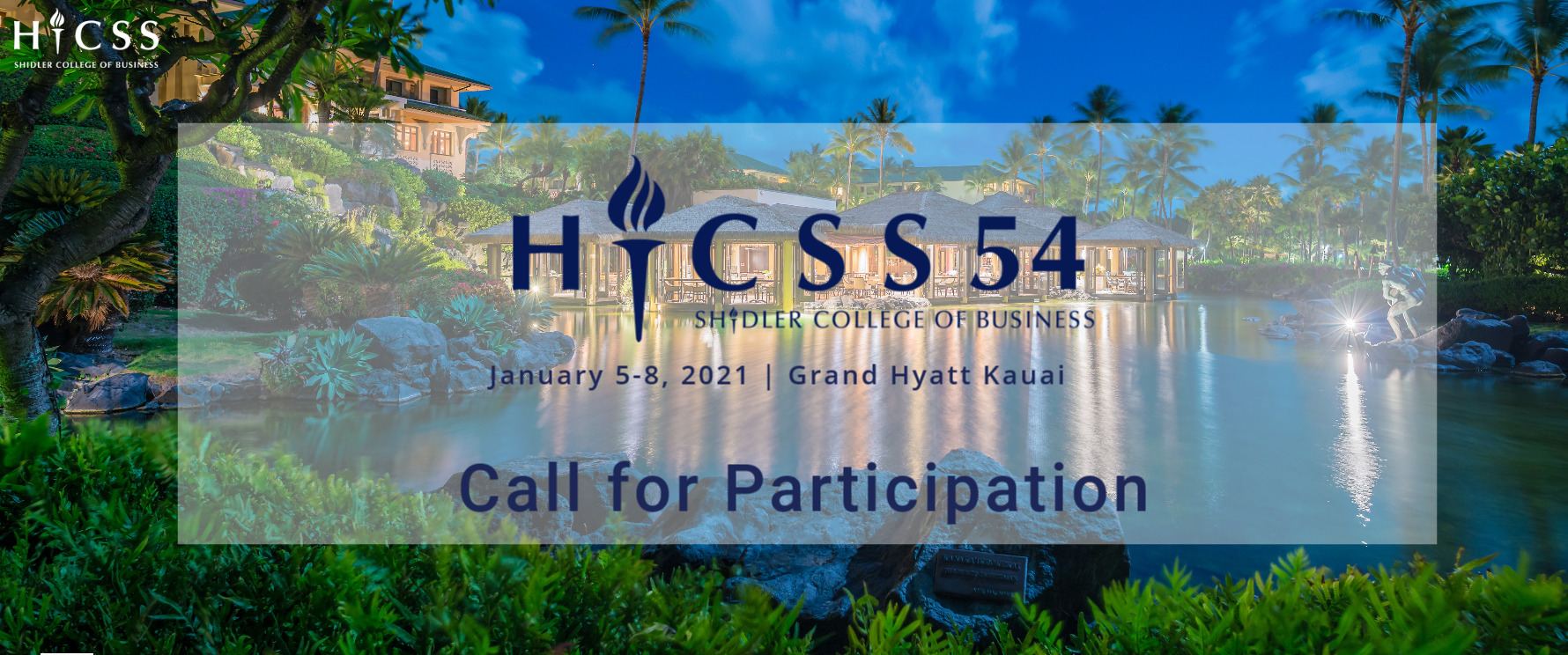 Call for Papers - Due June 15, 2020
